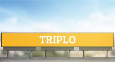 Outdoor Triplo